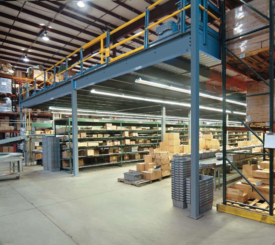 Cogan Mezzanines   Jorgenson Material handling