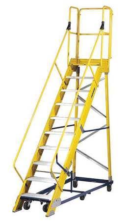 Fiberglass Rolling Ladder