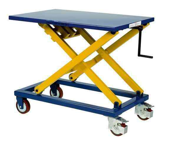 Manual Lift Table | Jorgenson Material Handling