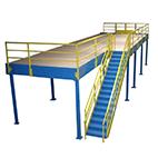 Freestanding mezzanines