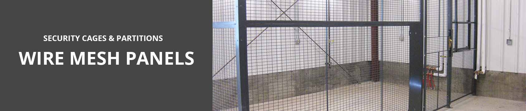 Wire Mesh Panels, Security Cages | Jorgenson Material Handling