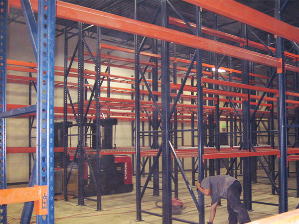 How JMH Can Install Pallet Racking Quickly