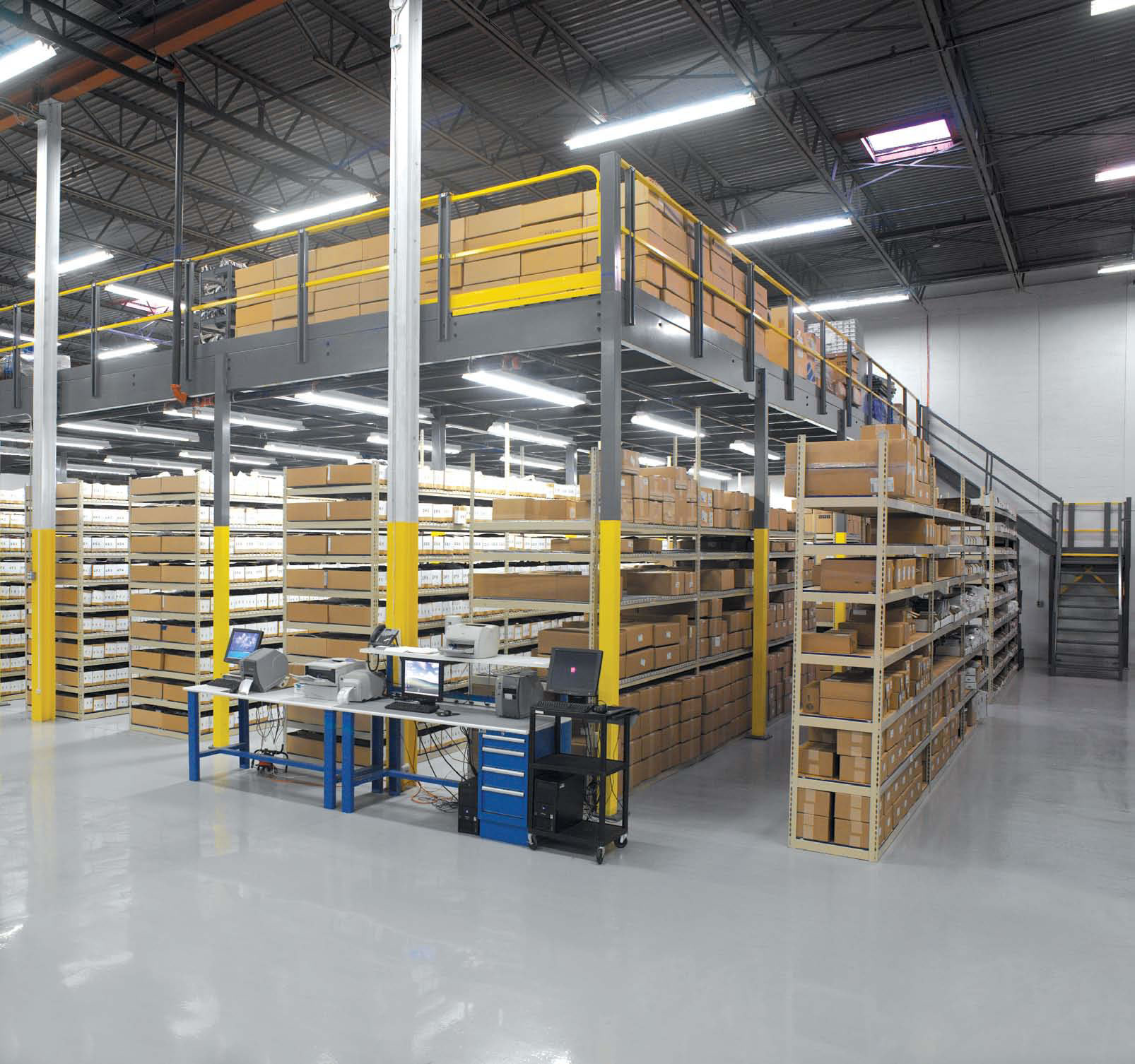 Mezzanines: Save Money AND Get More Storage Space in Your Facility