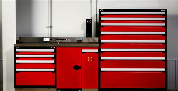 New Line Of Rousseau Storage Cabinets For Sale